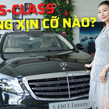 Mercedes-Benz S 450 L & S 450 L Luxury có gì giống & khác nhau?