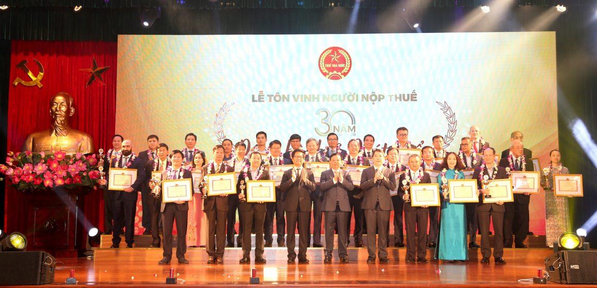 Toyota Việt Nam được vinh danh tại Lễ tôn vinh Người nộp thuế năm 2020