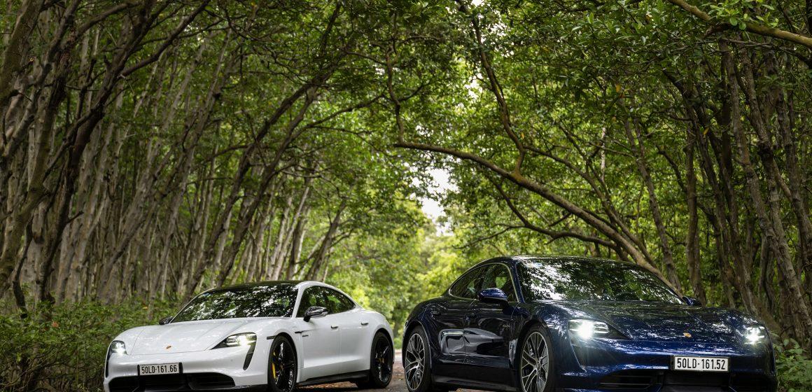 Porsche Việt Nam chính thức giới thiệu xe thể thao thuần điện Taycan