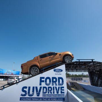 Ford SUV Drive 2020: Trải nghiệm off-road khác biệt trên địa hình mô phỏng thực tế