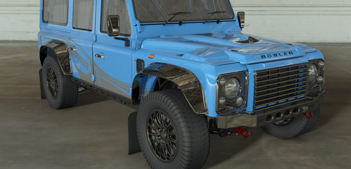 Land Rover cấp phép cho Bowler về việc sử dụng hình dáng mang tính biểu tượng