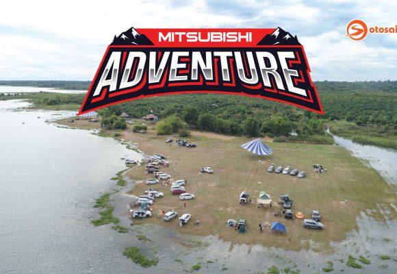 Toàn cảnh Mitsubishi Adventure 2020 với hơn 50 xe tham gia tại hồ Trị An