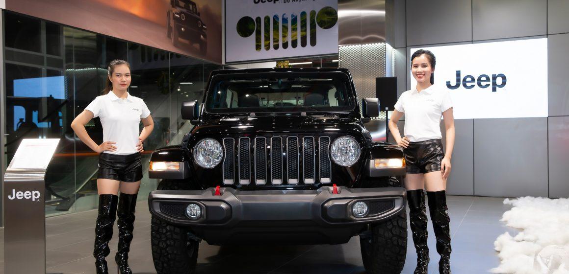 Khai trương showroom đầu tiên của Jeep tại Việt Nam