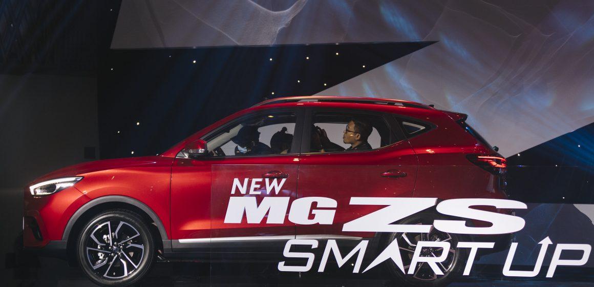Chính thức ra mắt MG ZS Smart Up giá từ 569 triệu đồng