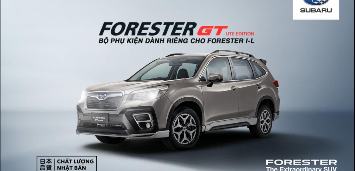 Chính thức ra mắt và trưng bày Bộ phụ kiện GT Edition dành riêng cho Forester 2.0i-L