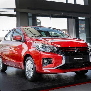 Khởi đầu hành trình mới cùng Mitsubishi Attrage CVT Premium chỉ với 485 triệu đồng
