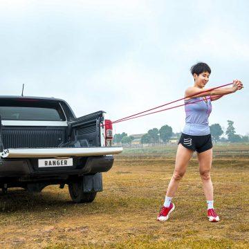 Bí quyết rèn luyện sức khỏe cùng Ford Ranger