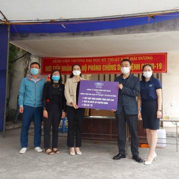 Ford Việt Nam hỗ trợ phương tiện vận chuyển và trang thiết bị y tế cùng tỉnh Hải Dương chống dịch