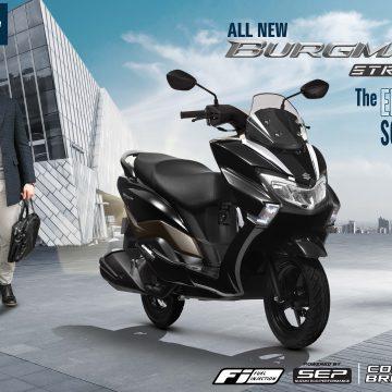 Suzuki Burgman Street 125, luồng gió mới trong phân khúc xe tay ga thể thao. Giá 49,5 triệu đồng