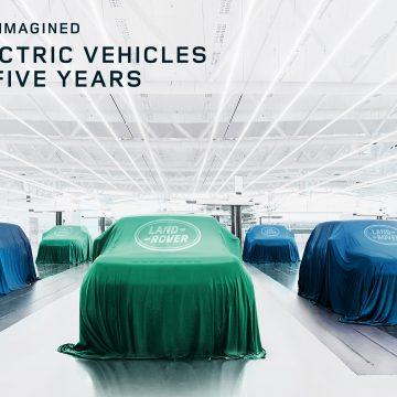 Jaguar Land Rover tái tạo tương lai của sự sang trọng, hiện đại thông qua thiết kế