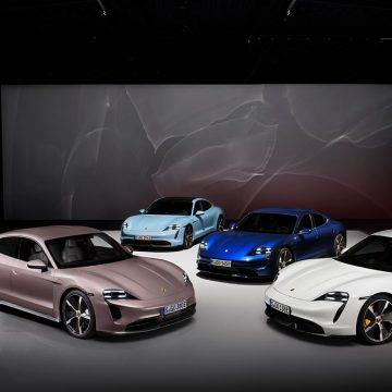 Porsche mở rộng danh mục dòng xe điện Taycan
