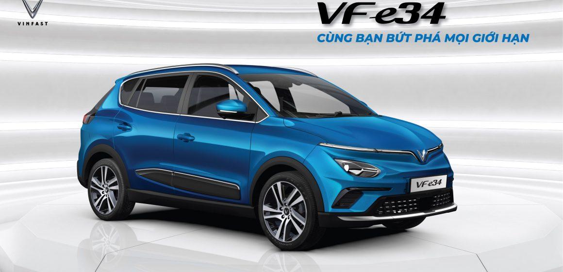 Vinfast mở bán ô tô điện VF e34 với giá 690 triệu đồng