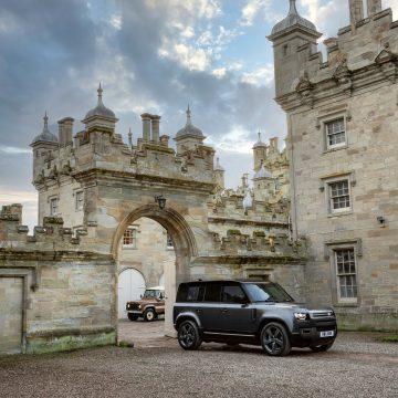 Ra mắt Land Rover Defender V8 mới với động cơ siêu nạp 5.0L