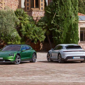 Porsche ra mắt mẫu xe điện Taycan Cross Turismo