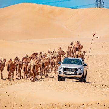 Thách thức Ford Ranger tại một trong những địa điểm nóng nhất hành tinh