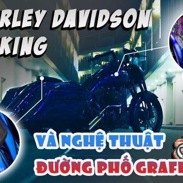 Nghệ thuật vẽ tranh đường phố Graffiti có ứng dụng được trên mô tô như Harley Davidson ?