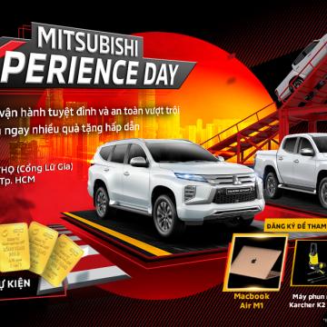 """""""Mitsubishi Experience Day"""" – Ngày hội trải nghiệm xe Mitsubishi"""" tại TP.Hồ Chí Minh"""