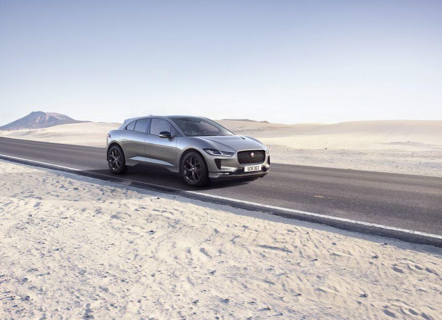 Jaguar I-PACE có thêm phiên bản màu đen mới