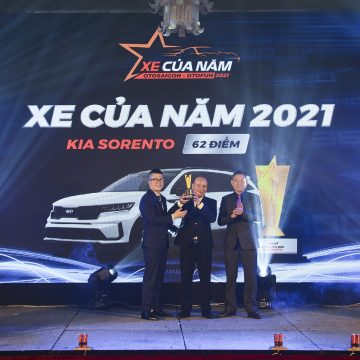 KIA Sorento thắng giải XE CỦA NĂM 2021