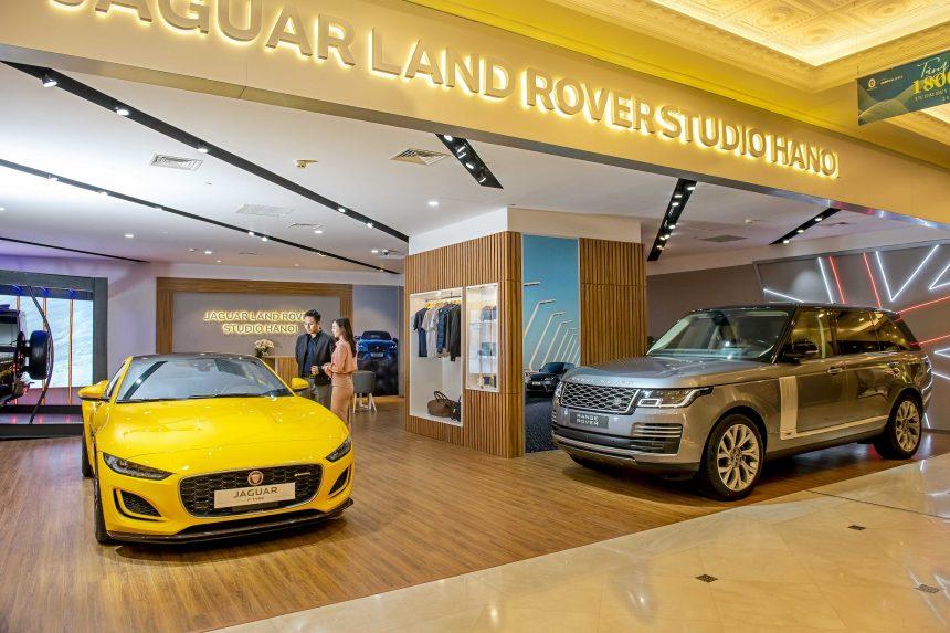 Chính thức giới thiệu không gian trưng bày Jaguar Land Rover Studio Hanoi