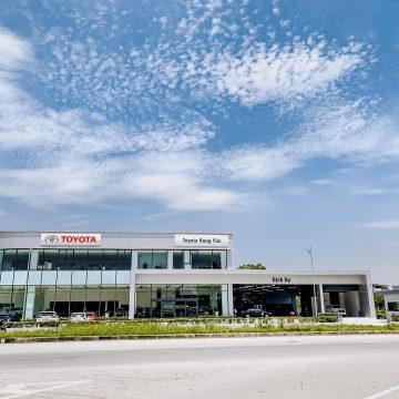 Ra mắt đại lý Toyota Hưng Yên