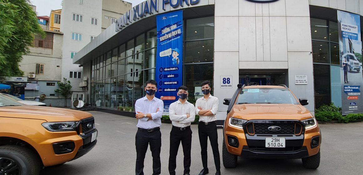 Cộng đồng Ford Việt Nam đi đầu trong công tác chống dịch  covid-19