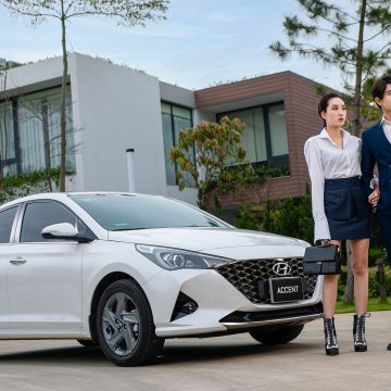 Accent vẫn là chiếc xe bán chạy nhất của Hyundai trong tháng 8.2021