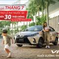 Chương trình ưu đãi lên đến 30 triệu đồng cho Toyota Vios