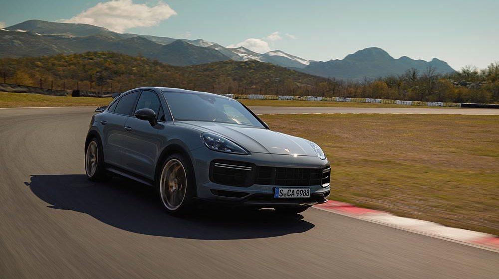 Cayenne Turbo GT: ngôi sao mới của gia đình Porsche