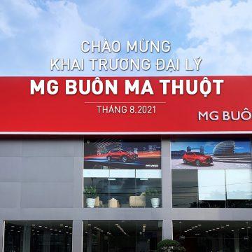 MG Việt Nam mở thêm 5 đại  lý tại Lào Cai, Thanh Hóa, Huế, Buôn Ma Thuột & TP.HCM