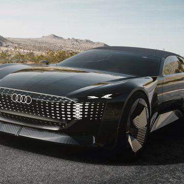 Audi Skysphere Concept, chiếc xe có thể thay đổi chiều dài chỉ bằng một nút bấm