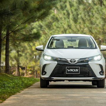 Tháng 8.2021: Vios tiếp tục là mẫu xe bán chạy nhất của Toyota