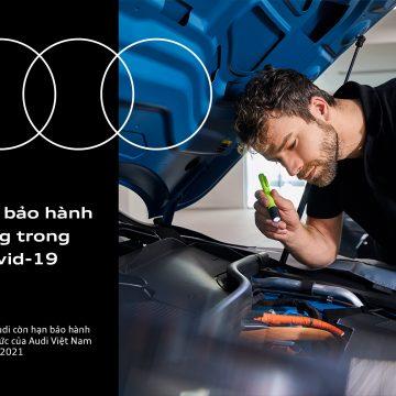 Audi Việt Nam hỗ trợ gia hạn bảo hành xe mới