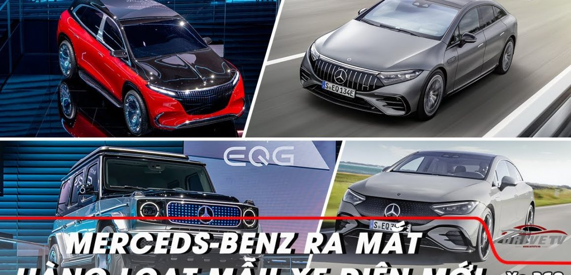 Mercedes-Benz giới thiệu hàng loạt mẫu xe điện mới tại Triển lãm ô tô Munich 2021