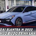 """Hyundai Elantra phiên bản """"đua"""" cạnh tranh với Civic Type R"""