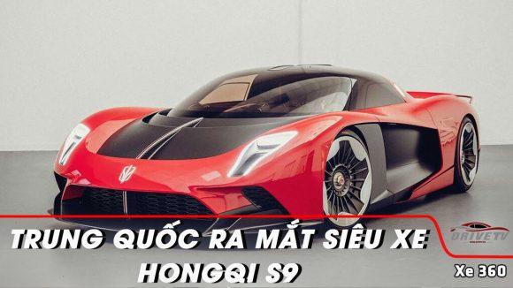 Trung Quốc ra mắt siêu xe Hongqi S9 cạnh tranh với Lamborghini, Ferrari