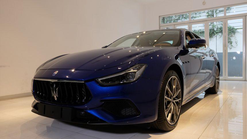 Ghibli Hybrid 2021 – 'xe lai' đầu tiên của Maserati tại Việt Nam