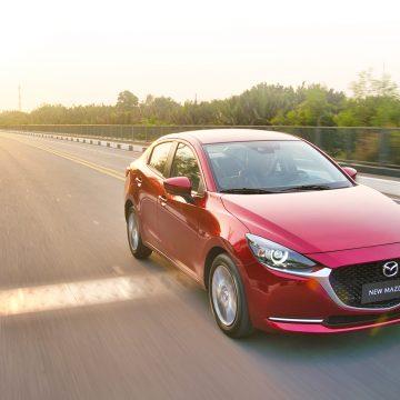 Ưu đãi tương đương 50% phí trước bạ khi mua New Mazda2